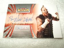 TNA Wrestling Autograph Card Shannon Moore A52 2010