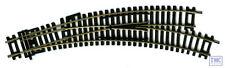 36-875 Bachmann OO Right-hand Curved Point Radii 438mm Arcs 22.5 & 33.75deg.