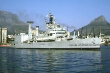 ROYAL NAVY CRUISER HMS TIGER AT CAPETOWN c 1973
