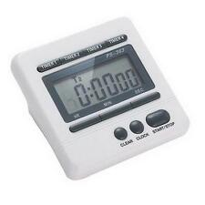 Professional Lab kitchen race electronic digital timer 4 channel 99 hour clock W