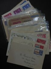 BRITISH COMMONWEALTH : Nice grouping of Omnibus. Many are FDCs & some Registered