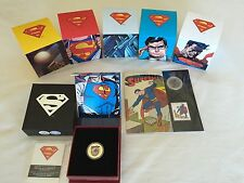 CANADA 2013 SUPERMAN COINS (ALL 7 COIN SET) including the Gold Coin