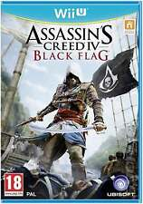 ASSASSIN'S CREED IV 4 BLACK FLAG WII U