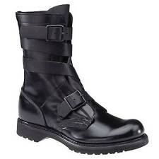 "LEFT BOOT ONLY Corcoran Black Leather Tanker 10"" Boots 5407 Men's 8.5D 8 1/2D"