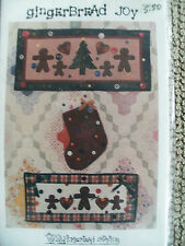 HOMESTEAD STATION QUILT SEWING PATTERNS GINGERBREAD JOY WALLHANGING STOCKING