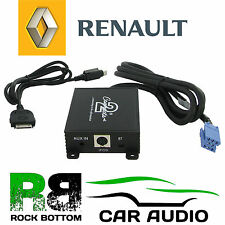 Car Radio Stereo iPod iPhone & Aux In Interface Adaptor Renault Clio 2000-2009