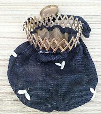 Ancienne bourse accordéon, porte monnaie, pour femme, fin 19 éme, french antique