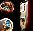Classic Torch Windproof Triple Jet Flame Refillable Butane Cigar Torch Lighter