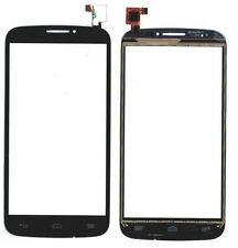 VETRO TOUCH SCREEN BLACK PER ALCATEL ONE TOUCH POP C7 7040 7041 7041D NERO