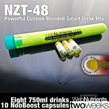 Limitless NZT-48- 8+10 Doses - Powerful Nootropic Brain-Boosting Nutrients