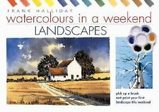 Watercolours in a Weekend Landscapes-ExLibrary