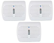3x Rechargeable Moisture Cordless Mini Absorbing Dehumidifier