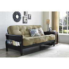 Convertible Futon Sofa Bed Couch Full Size Mattress Living Room Furniture