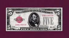 Fr.1526  1928 A   $5  LEGAL TENDER UNITED STATES NOTE SN C 56610970 A HIGH GRADE
