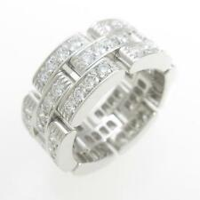 Authentic Cartier Maillon Panther  Full Diamond ring  #260-001-257-6845