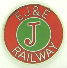 Railroad Hat-Lapel Pin/Tac- Elgin Joliet & Eastern (EJ&E) #1643 -NEW
