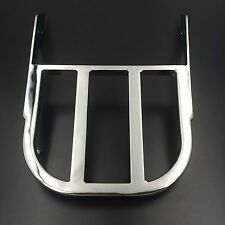 Chrome Sissy Bar Luggage Rack For Honda VTX 1300C/VTX 1800C/VTX 1800F Aluminum