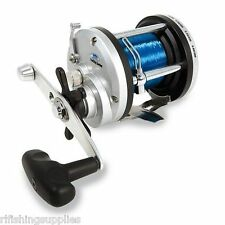 BRAND NEW LINEAEFFE JD300 BEACHCASTER MULTIPLIER REEL WITH 20LB LINE BOAT REEL