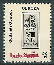 Poland SOLIDARITY POST District agencies OBROZA