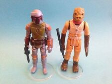 "Star wars vintage - 50 grand clair figure display stands 1.5"" - neuf!"