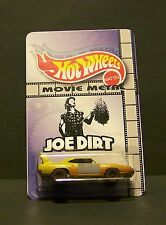 "Custom HotWheels CHARGER DAYTONA and package of  ""Movie Metal""  from  JOE DIRT"