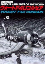 war ww2 VOUGHT F4U CORSAIR , Famous Airplanes of the world no. 88 Japan.2001