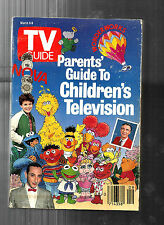 TV GUIDE-3/1990-PARENTS' GUIDE TO KIDS' TV-PEE WEE HERMAN-WALTER MATTHAU-MUPPETS