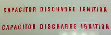 KAWASAKI H1D 500 H1E 500 H1F 500 CAPACITOR DISCHARGE IGNITION SIDE PANEL DECALS