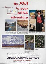 PNA PACIFIC NORTHERN AIRLINES 1965 ALASKA ADVENTURE BY B720 JET AD