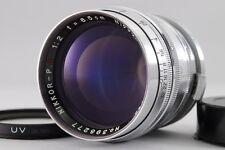 【B V.Good】 Nikon NIKKOR-P.C 8.5cm 85mm f/2 for S-Mount Nippon Kogaku JAPAN #2434