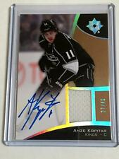 2015-16 UD Ultimate Collection Anze Kopitar Jersey Auto SP 27/49!