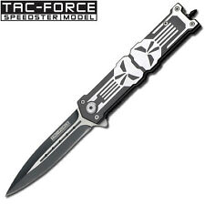 PUNISHER SPEED SAFE ASSISTED FOLDER W/GLASS BREAKER TF-592BK/GF8