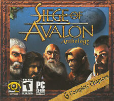 SIEGE OF AVALON ANTHOLOGY Classic Vintage RPG Role Playing PC Game Win98-XP NEW