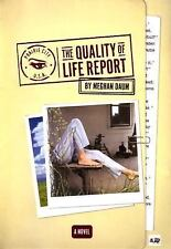 The Quality of Life Report, daum, meghan, Good Condition, Book