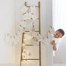 Adventskalender Papiertüten zum Selbstbefüllen Selberfüllen Weihnachten Deko
