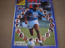 campionato di calcio tutte squadre 1991/1992 vialli sampdoria radiocorriere tv