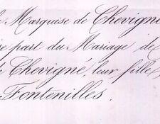 Thérèse De Chevigné 1859 Léon De La Roche-Fontenilles