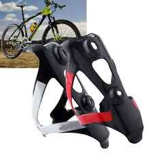 Full Carbon Bicycle Bike Drink Water Bottle Cage Holder Mount Black&Red