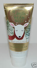 NEW BATH & BODY WORKS VANILLA BEAN NOEL NOURISHING HAND CREAM LOTION 2 OZ TRAVEL