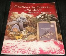 Creations In Canvas & More Carol Spooner Christmas Decorative Tole Painting Book