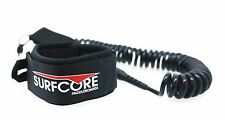 12ft Coiled SUP Board Leash by SurfCore