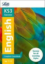 Letts Key Stage 3 Revision ? English: Complete Coursebook, Collins UK, New Books