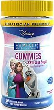 Disney Frozen Princess Kids Complete Multi-Vitamin 60 Gummies