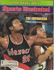 SPORTS ILLUSTRATED - FEATURES MAURICE LUCAS FROM OCTOBER 31, 1977