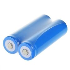 2x Blue 18650 2400mAh 3.7V 3.7volt LI-ION Rechargeable Battery for UltraFire LC
