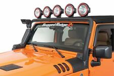 JEEP WRANGLER JK 2007 - 2017 TEXTURED BLACK 5 TAB FULL FRAME LIGHT BAR