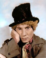 "HARPO MARX HOLLYWOOD ACTOR COMEDIAN MARX BROTHERS 4x6"" HAND COLOR TINTED PHOTO"