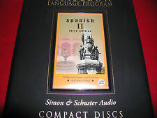 Pimsleur Spanish II (Level 2) comprehensive course set (16 audio cds)