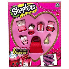 Shopkins Sweet Heart Collection Toy Kids Game .ORIGINAL great gift for kids.
