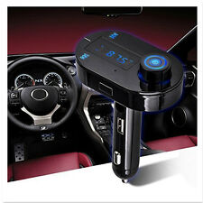 Wireless Bluetooth3.0 Car Kit LCD FM Transmitter Modulator USB SD MP3 Player T9S